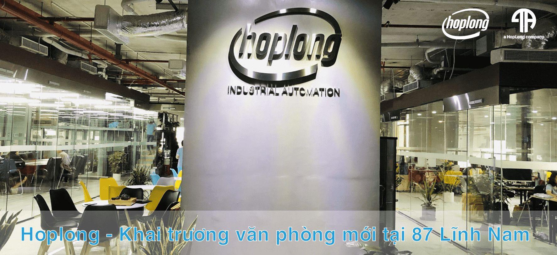 [ Thông Báo ] Hoplong - Khai trương văn phòng mới tại 87 Lĩnh Nam